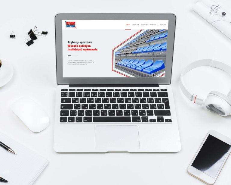 Strona internerowa Trybuny Sportowe