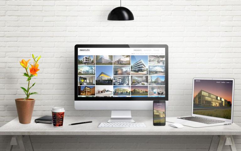 Strona internetowa dla Architekci Poznan