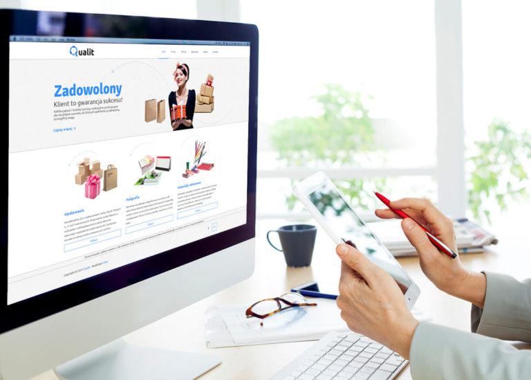 Wykonanie strony www dla firmy Qualit
